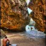 Bali surf. The Cave at Uluwatu. Floating Leaf Eco-Retreat Photography