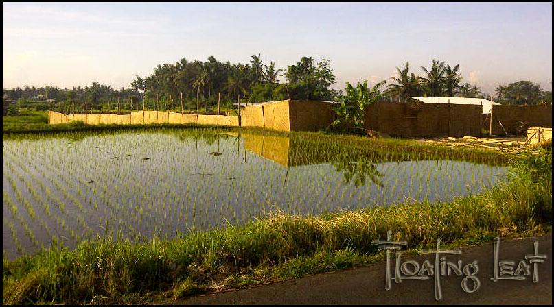 Bali villa construction for spa, yoga, pool