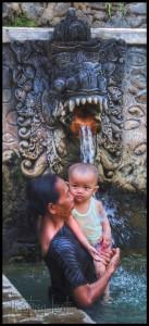 Bali healing waters
