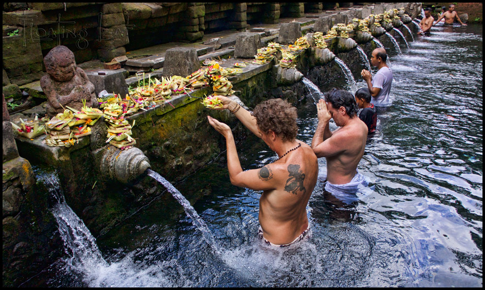 Bali healer purification