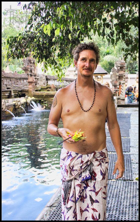 Purification at Bali's most holy springs