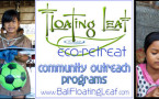 Yoga retreat group takes part in community outreach charity event at Floating Leaf