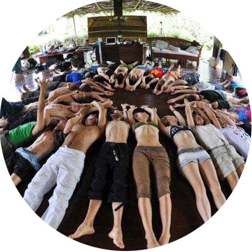 Bali retreat group