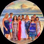 Bali yoga retreat group
