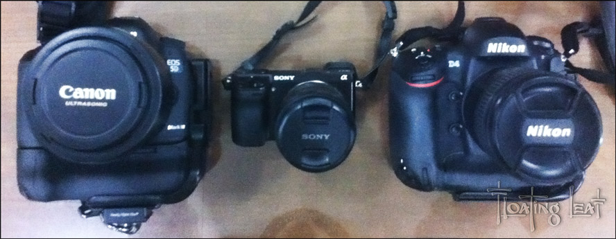 eco-travel gear photography Sony