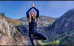 Yoga Retreat summits Volcano