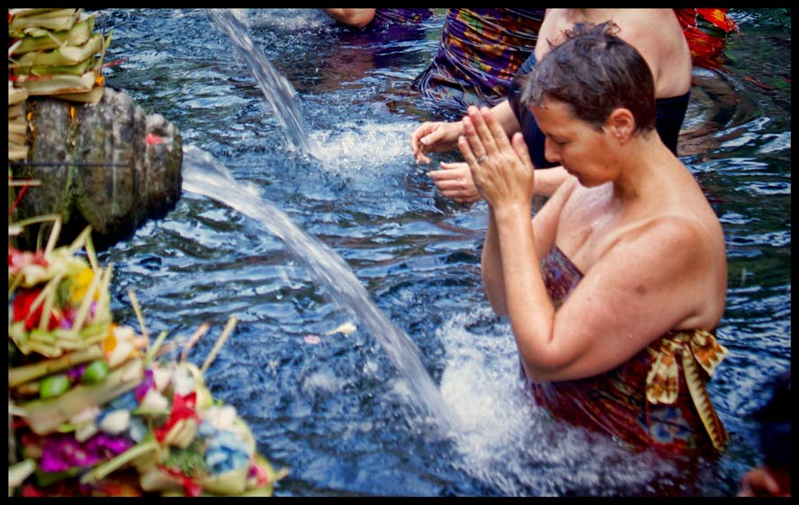 holy water for countless sacred rituals.