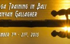 Level II Yoga Training in Bali with Banyan Gallagher