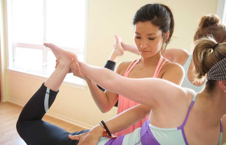 Yoga Chinese Medicine class
