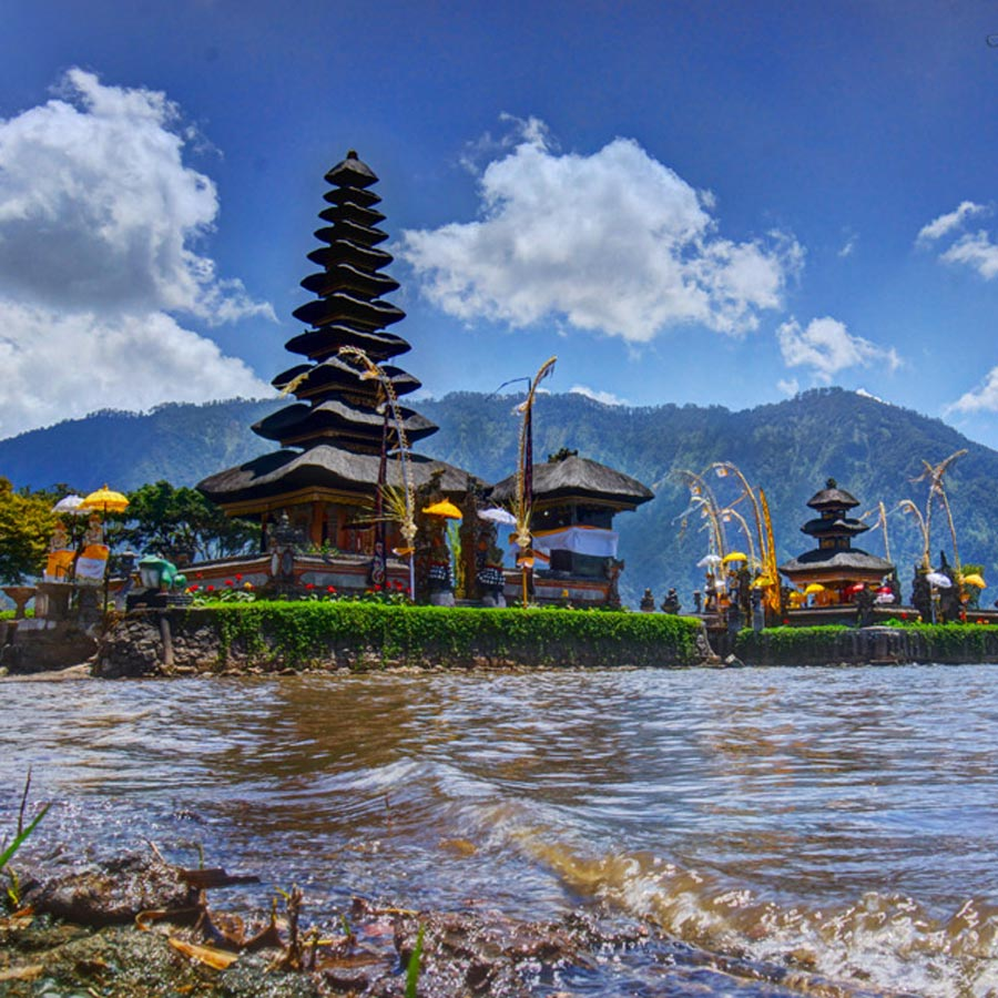 Ulun Danu Temple in Bali