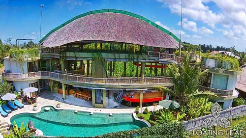 Bali's best hotel and healing pool