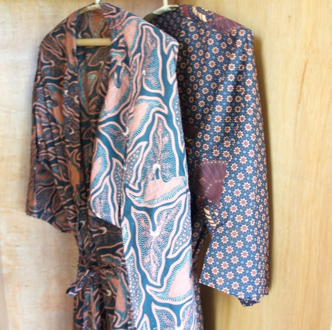 BATIK ROBES IN ROOMS