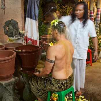 PURIFICATION CEREMONY WITH TRADITIONAL BALINESE HEALERS