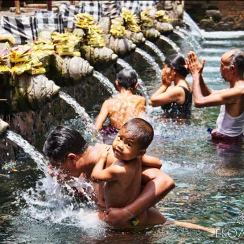 PARTAKE IN BALINESE PURIFICATION RITUALS