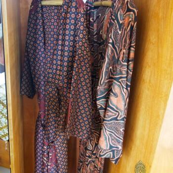 Traditional Batik Robes