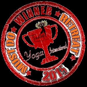 Best Yoga Retreat Award 2015