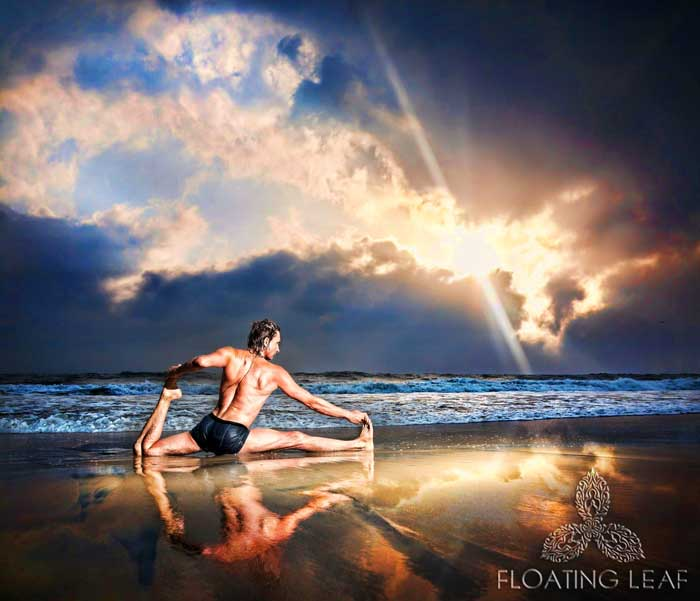 Sunset Beach Yoga in Bali