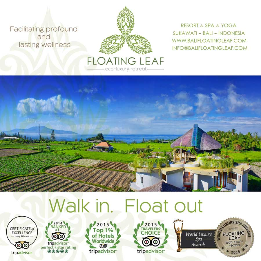 The award winning Floating Leaf Eco-Luxury Retreat