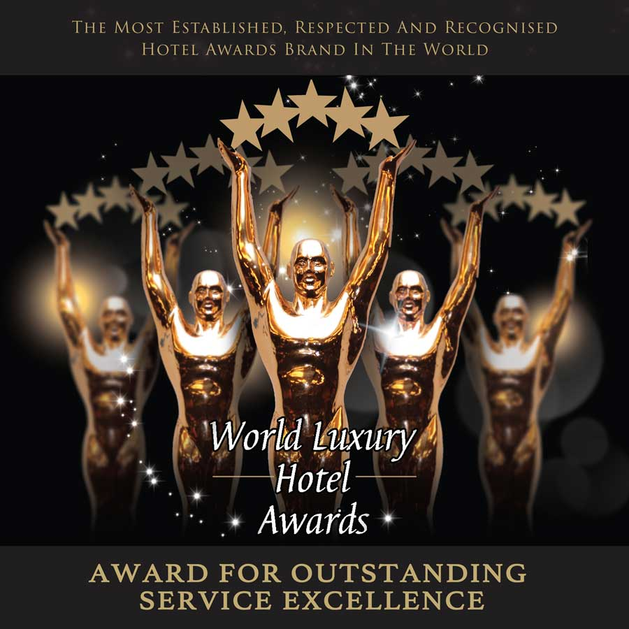 Luxury hotel best service award