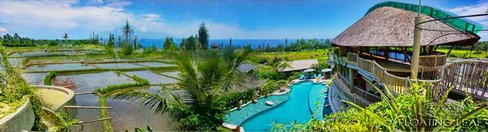 Bali landscape ocean
