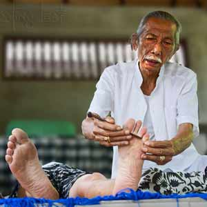 Traditional Balinese healing