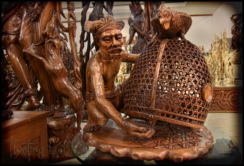 talent and skill of Balinese artists