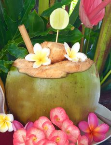 healthy coconut
