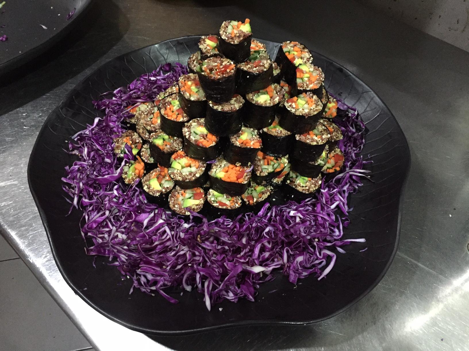 Bali healthy sushi