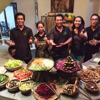 Bali healthy cooking