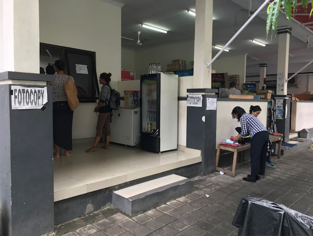 Photocopy Place at Immigration