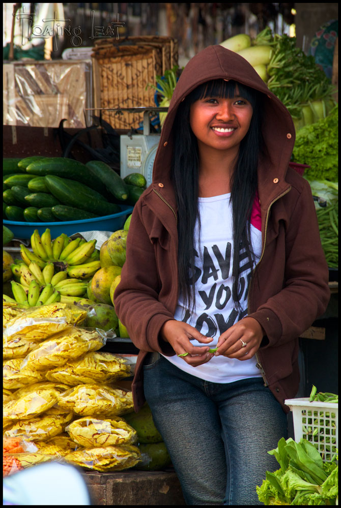 Bali Photo Of The Day Beautiful Girl Selling Fruit