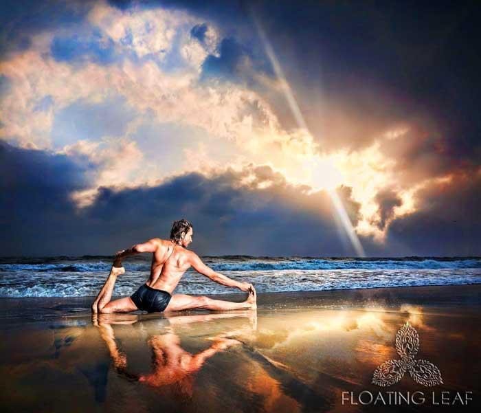 Sunset Beach Yoga In Bali