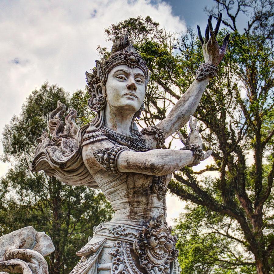 Bedugul Botanical Garden Or Kebun Raya Eka Karya Bali